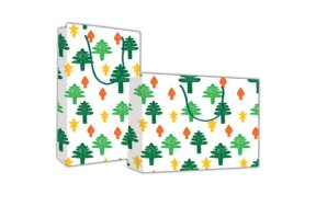 "PAPER BAG ""CHRISTMAS TREES"""